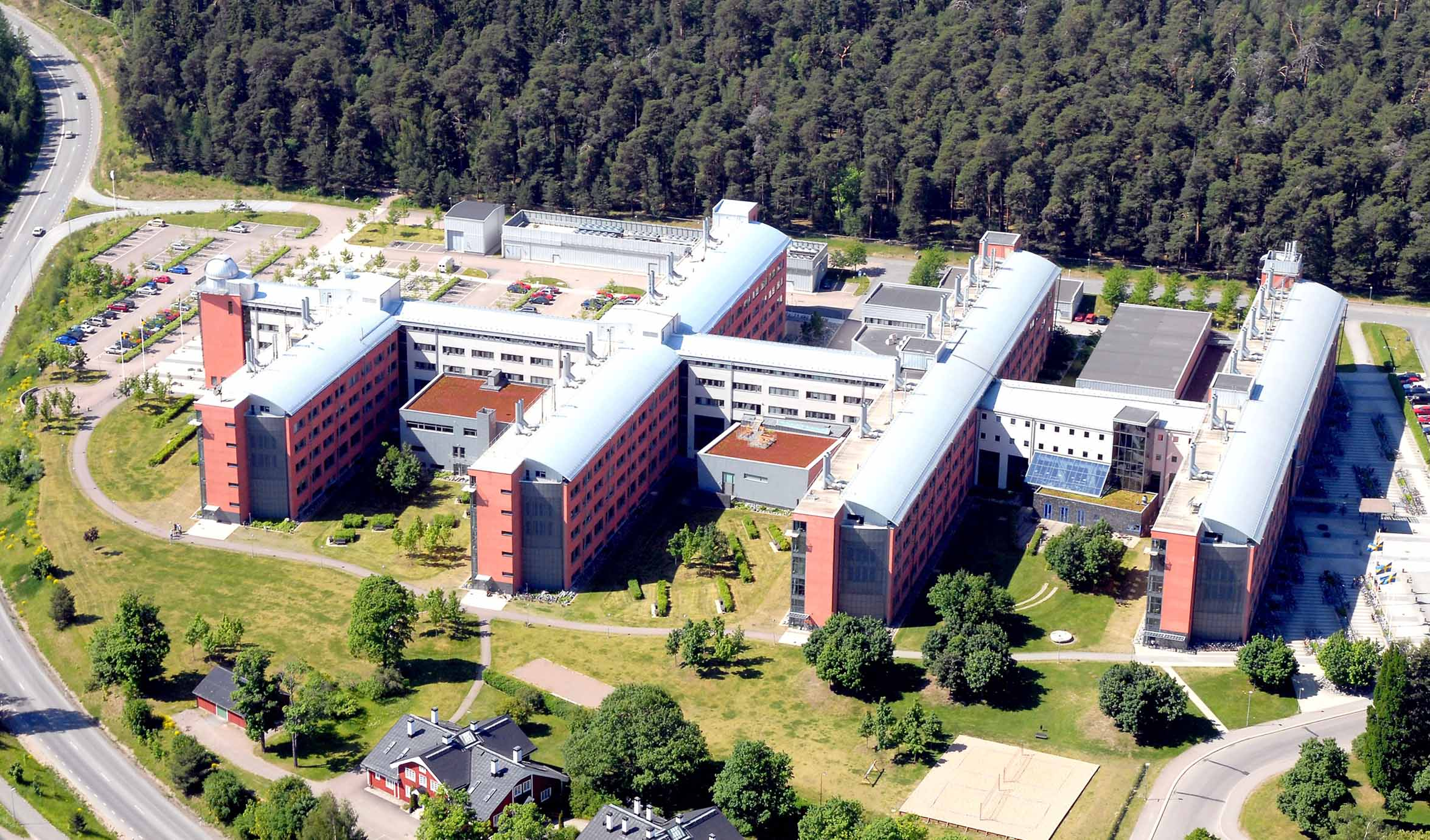 Photo of Campus Ångström taken by Teddy Thörnlund